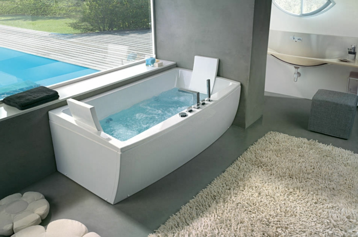 Awesome Jacuzzi Salle De Bain Pas Cher Photos Design