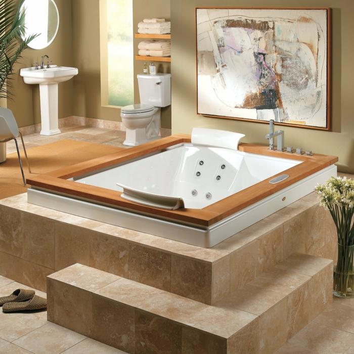 Faites vous le plaisir de la baignoire jacuzzi - Peinture pour baignoire ...