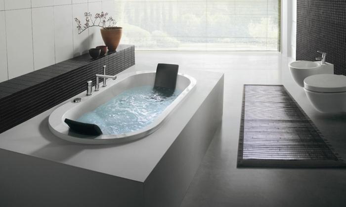 decoration salle de bain avec jacuzzi jacuzzi salle de bain jolie salle de bain - Modele Grande Salle De Bains Avec Spa