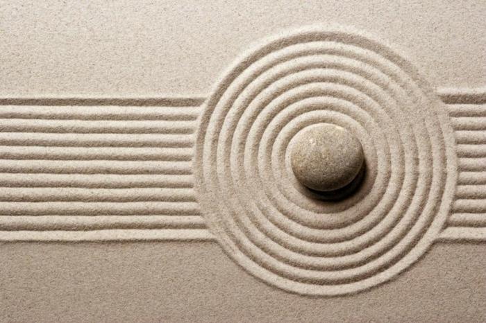 jardin-zen-japonais-idées-extérieur-pierre