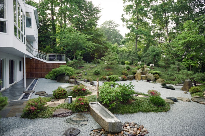 Le jardin zen japonais en 50 images - Landscaping for small spaces gallery ...