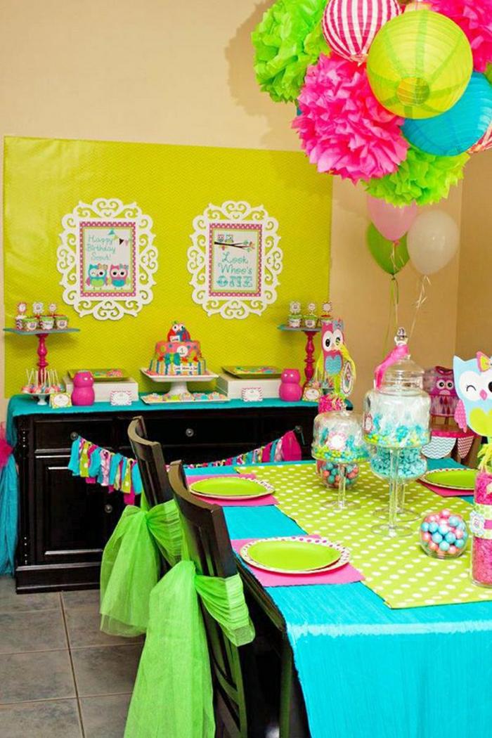 joli-set-de-table-nappe-bleu-set-de-table-jetable-chemin-de-table-en-papier-anniversaire-fille