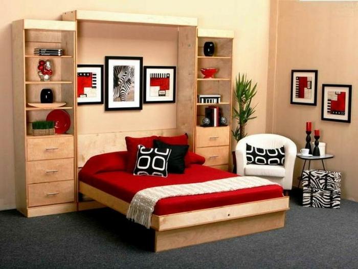 jolie-chambre-a-coucher-lit-en-bois-lit-pliant-en-bois-clair-moquette-gris-meubles-en-bois-clair