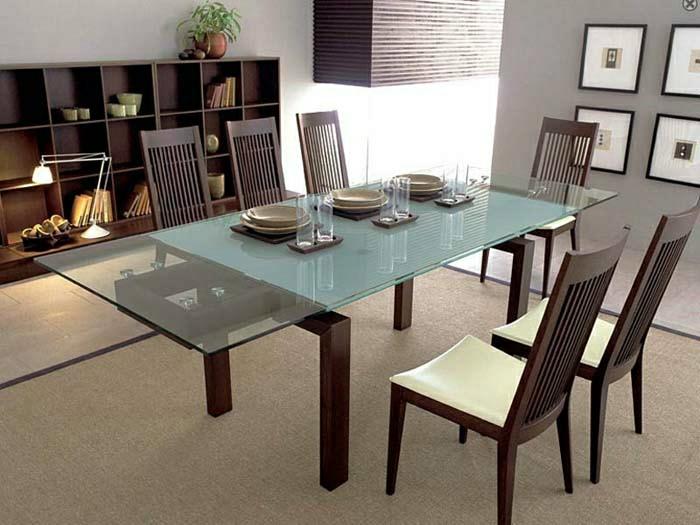 Aujourd hui on va vous pr senter le plateau de table en - Table de cuisine avec chaises ...