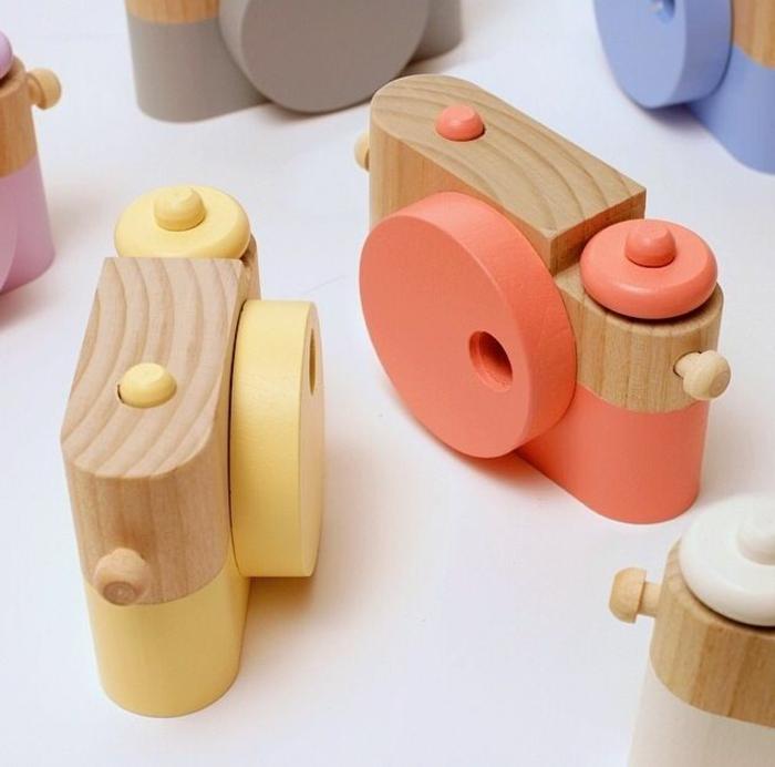 jouets-en-bois-caméras-bois-pour-enfants