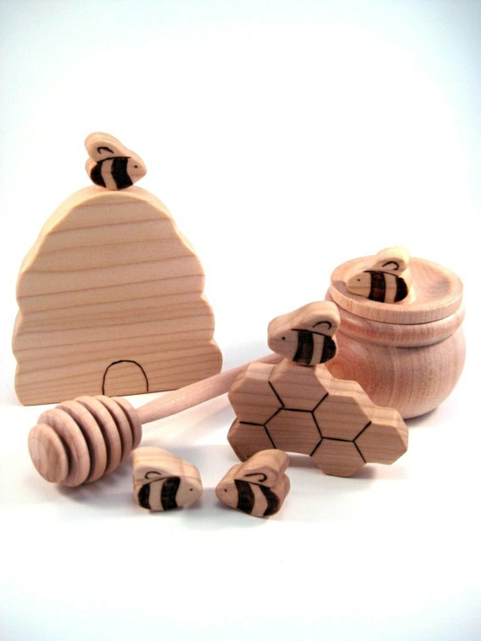 jouets-en-bois-d-où-vient-le-miel