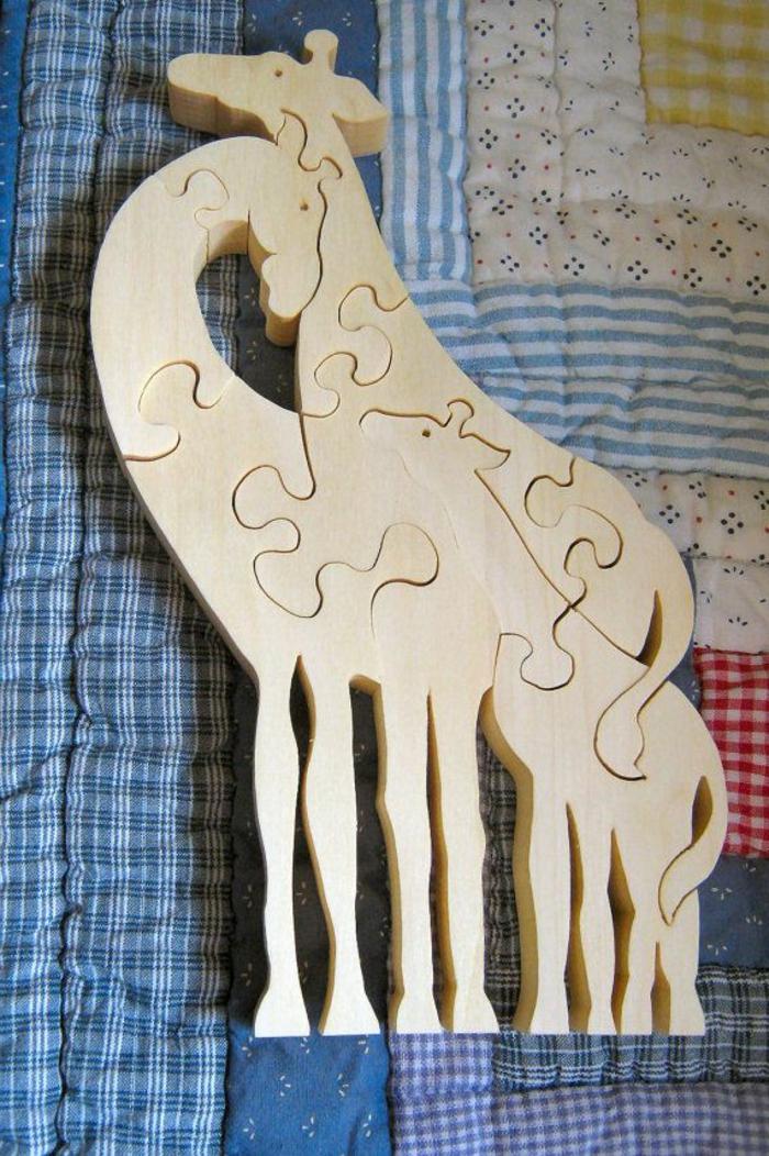 jouets-en-bois-famille-de-girafes