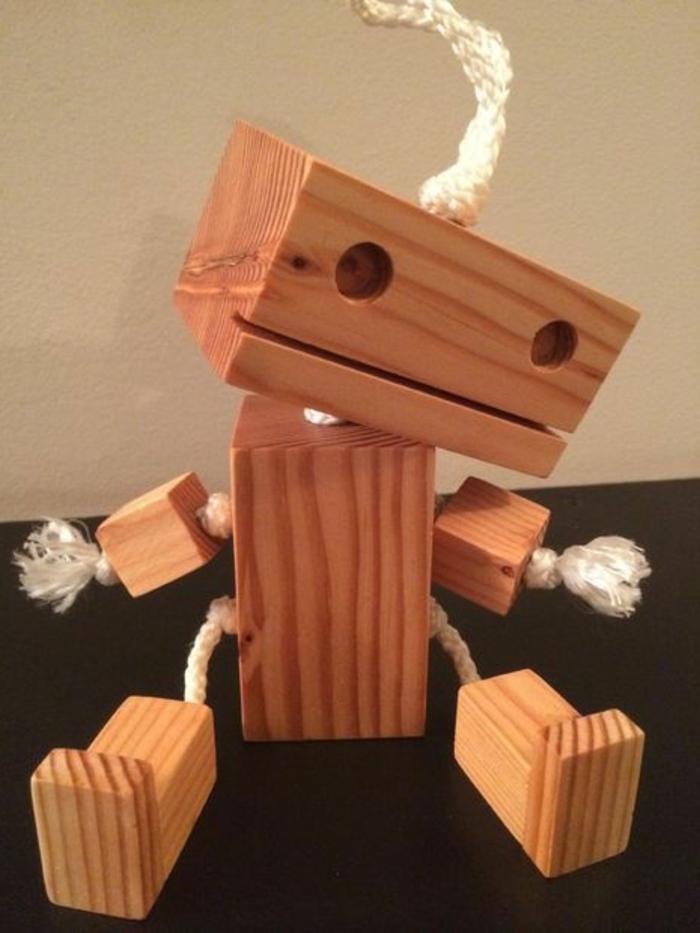 jouets-en-bois-jouet-bois-robot