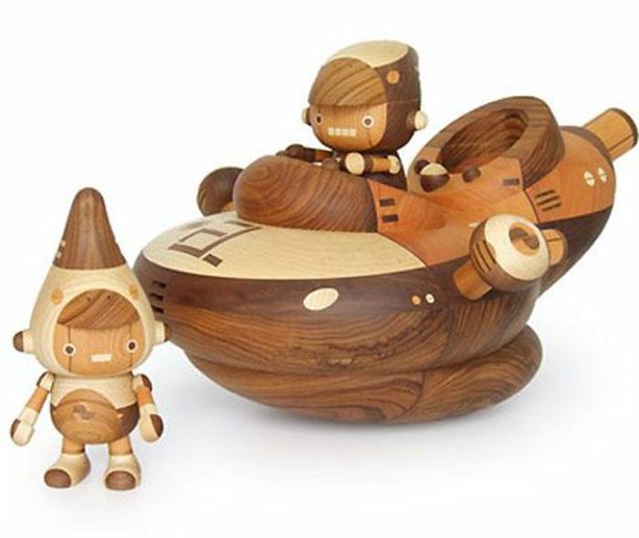 jouets-en-bois-jouet-bois-vaisseau-cosmique