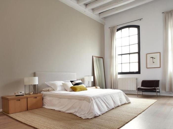 la-déco--loft-new-yorkais-deco-chique-chambre-à-coucher