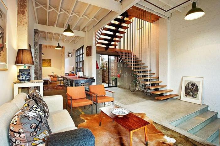 la-déco--loft-new-yorkais-deco-chique-deux-niveaux-espaliers