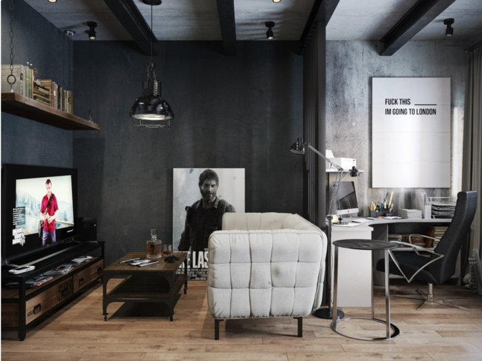 la-salle-de-séjour-style-industriel-meuble-tv-télé-meuble-resized