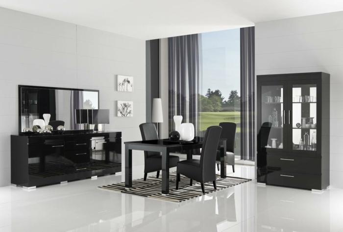 laqué-bahut-noir-idée-créative-intérieur-aménagement
