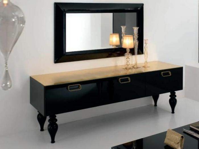 le-bahut-noir-meuble-salle-de-séjou-pieds