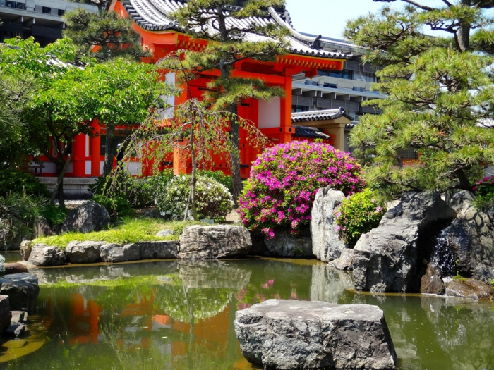 le jardin zen japonais en 50 images. Black Bedroom Furniture Sets. Home Design Ideas