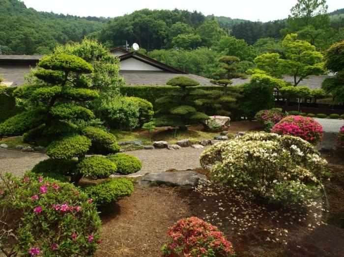 Le jardin zen japonais en 50 images - Arbre pour jardin japonais ...