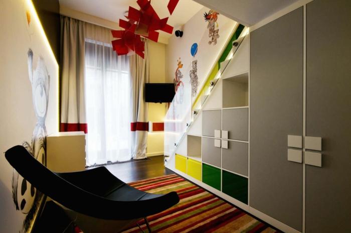 le-meuble-escalier-etagere-escalier-aménagement-sous-escalier-armoire