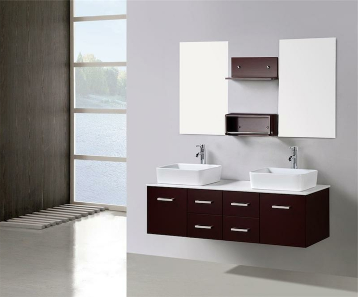 lavabo moderne blanc id e inspirante pour la conception de la maison. Black Bedroom Furniture Sets. Home Design Ideas