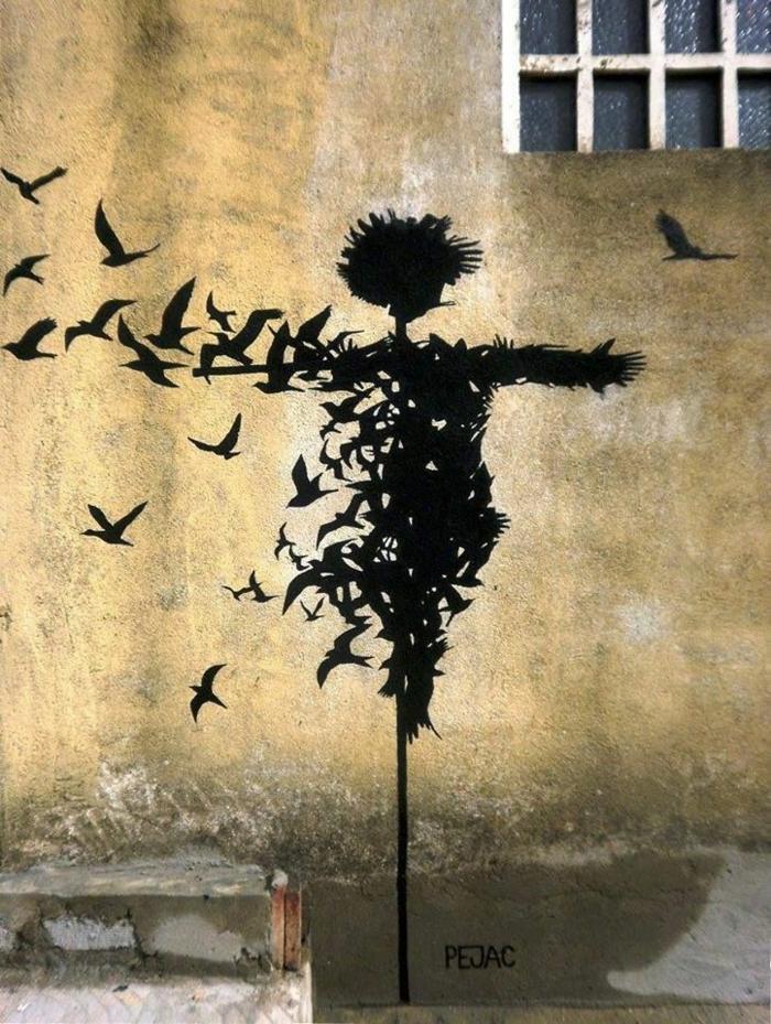 le-pochoir-peinture-street-art -cool-idée