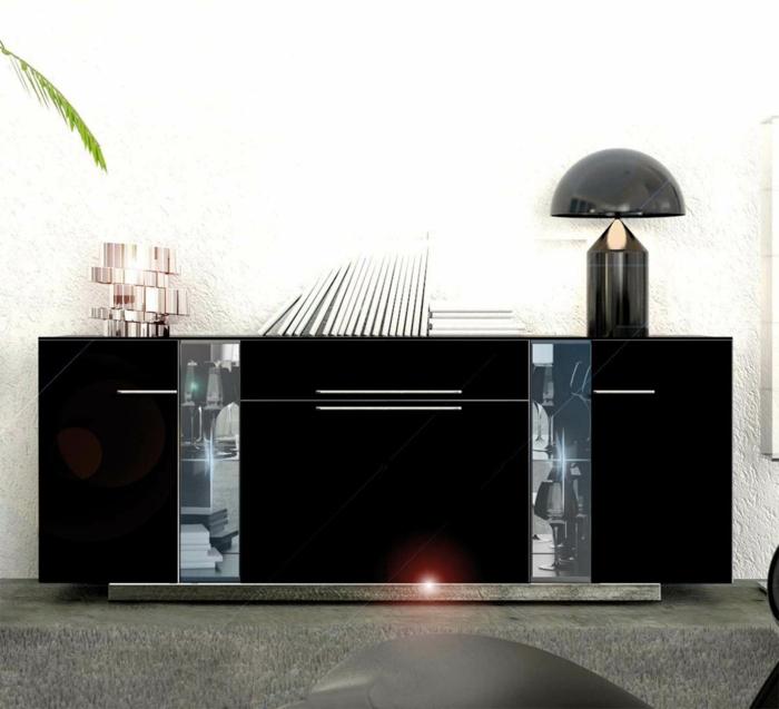 les-meubles-bahut-laqué-noir-buffet-noir