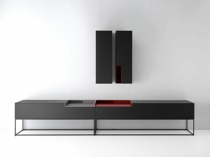 les-meubles-bahut-laqué-noir-commode