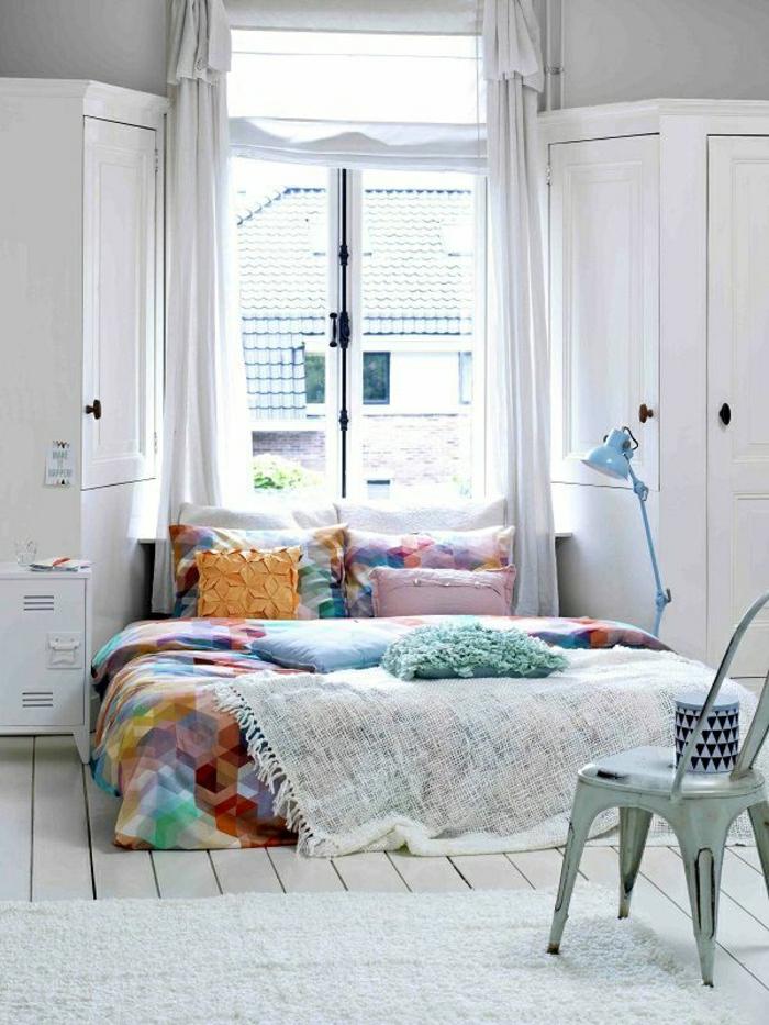 linge-de-lit-de-couleur-pastel-chambre-a-coucher-couleurs-pastels ...