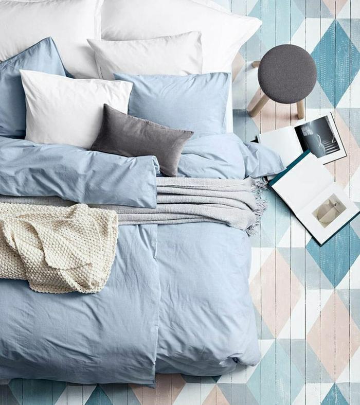 linge-de-lit-de-couleur-pastel-chambre-a-coucher-dessin-pastel-linge-de-lit-bleu-pale