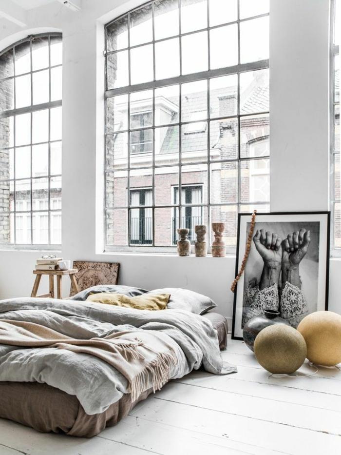 linge-de-lit-en-lin-chambre-à-coucher-lumineuse