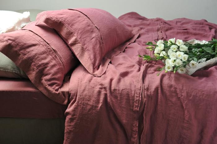 linge-de-lit-en-lin-parure-de-lit-romantique-en-lin-rose