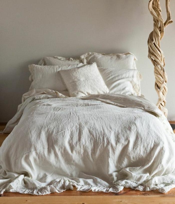 linge-de-lit-en-lin-pur-et-déco-unique-en-style-rustique
