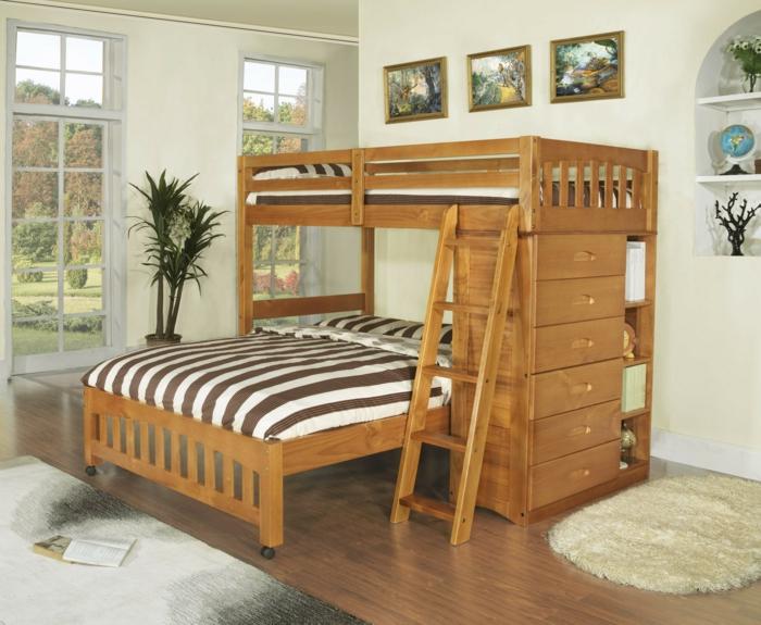 Le lit mezzanine ou le lit supersposé? Quelle variante choisir?