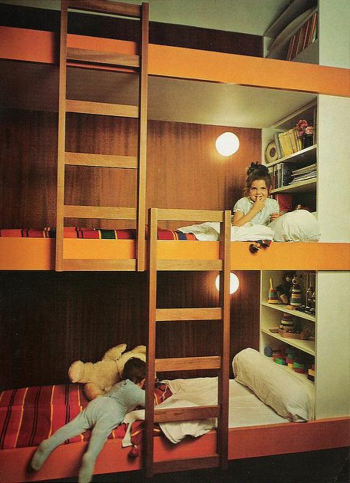 lit-enfant-sureleve-lit-superpose-enfant-lit-mezzanin-dans-la-chambre-d-enfant