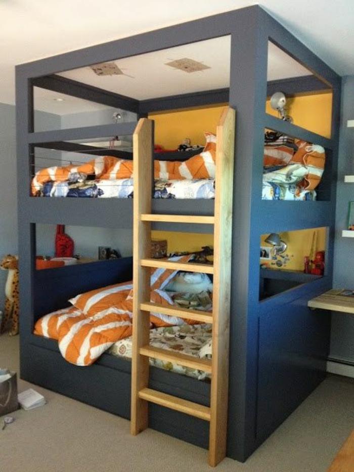 lit-merzzanine-dans-la-chambre-a-coucher-lit-enfant-sureleve-lit-superpose-enfant