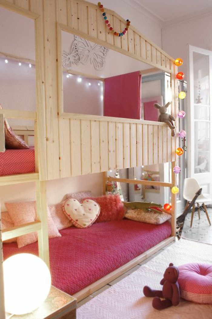 Le lit mezzanine ou le lit superspos quelle variante for But chambre d enfant