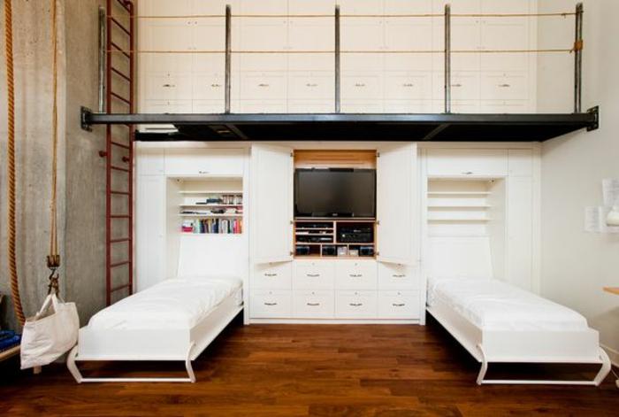 lits-pliants-lit-d-appoint-enfant-chambre-d-enfant-meubles-parquet-sol-en-bois