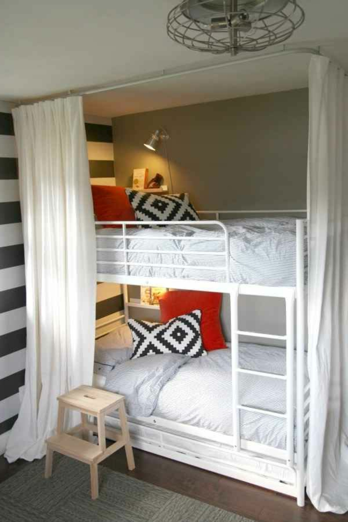 lits superposes ikea fabulous chambre fille avec lit. Black Bedroom Furniture Sets. Home Design Ideas