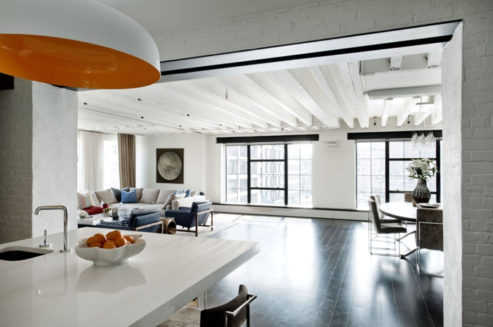 location-new-york-loft-hostel-deco-lustre-grande-orange