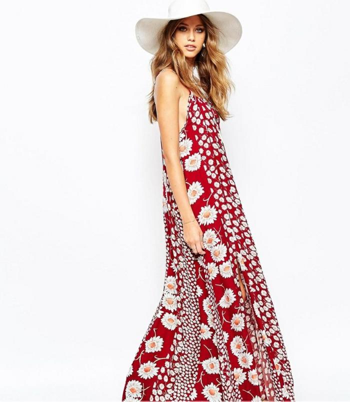 longue-robe-d-été-robe-été-longue-idée-tenue-fleurs-margurittes