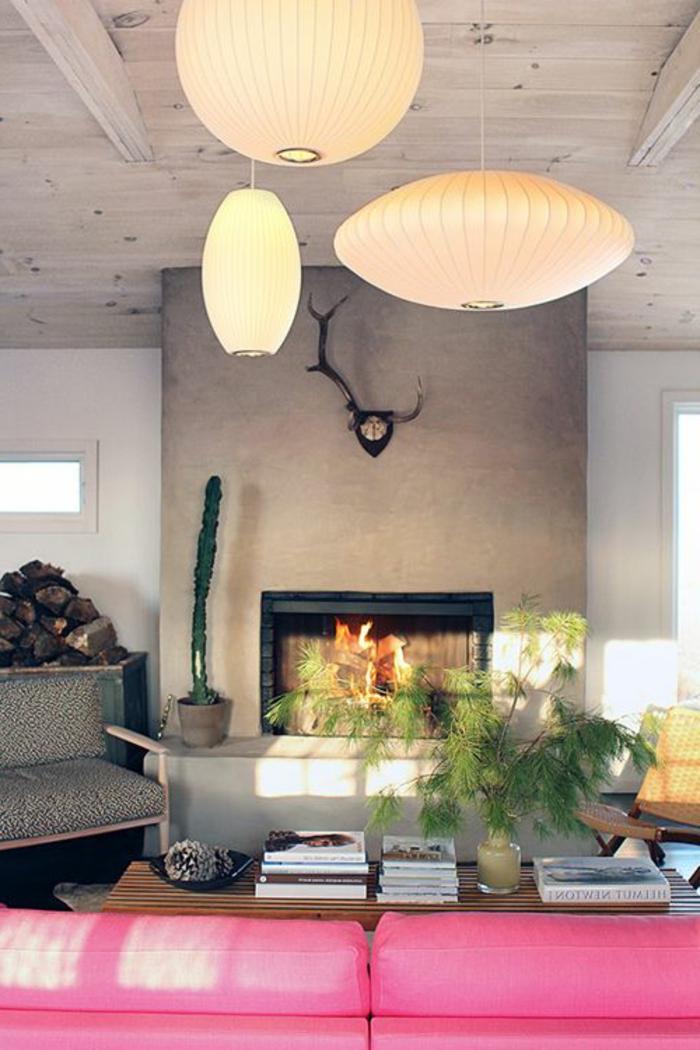 lustre boule papier id es de design d 39 int rieur. Black Bedroom Furniture Sets. Home Design Ideas