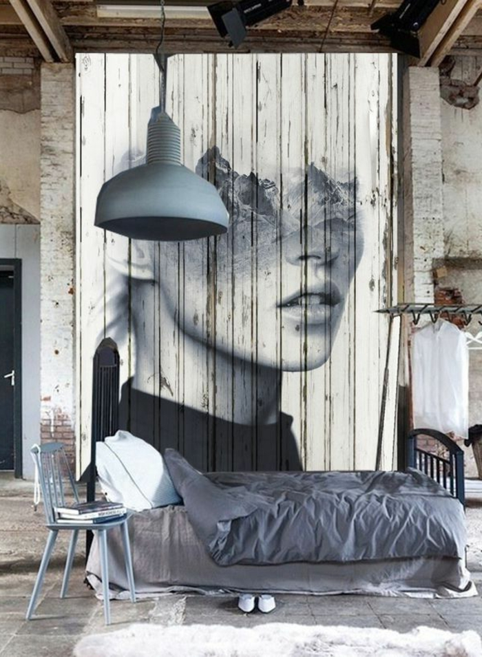 Le lustre industriel une inspiration d pareill e for Chambre style loft industriel