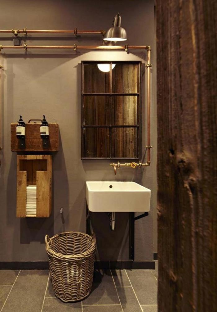 Le lustre industriel une inspiration d pareill e for Salle bain industriel