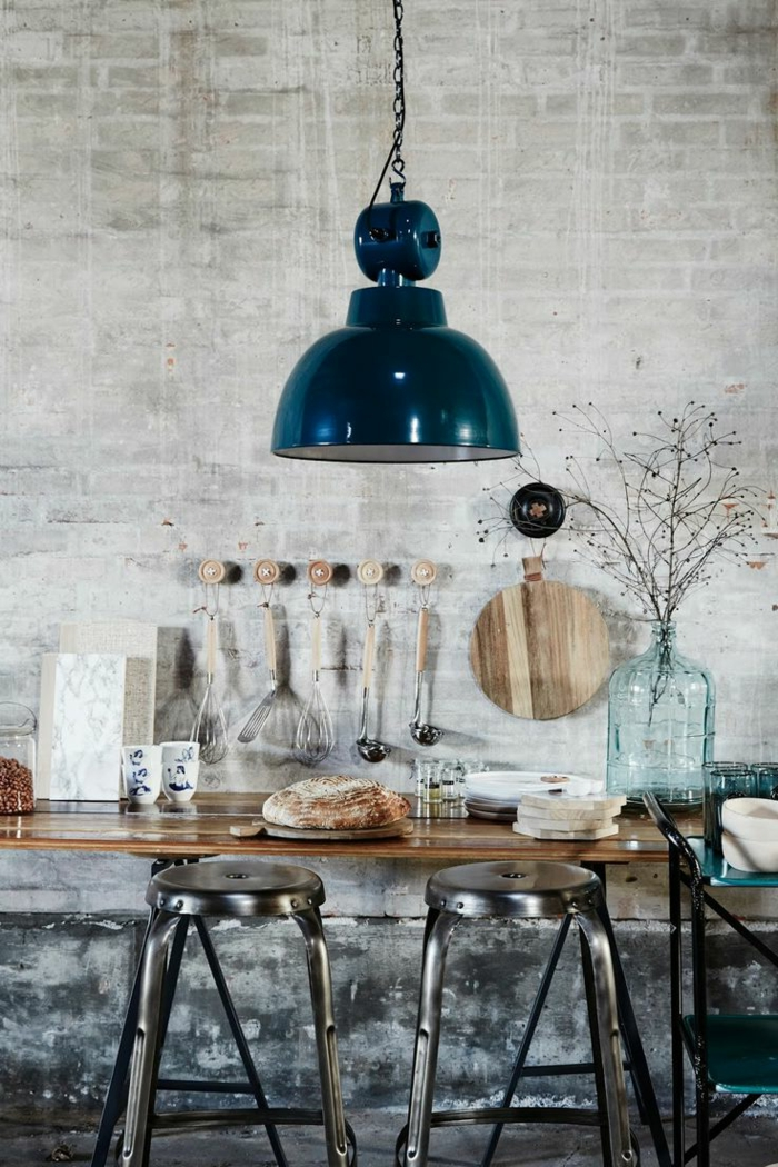 le lustre industriel une inspiration d pareill e On lustre industriel