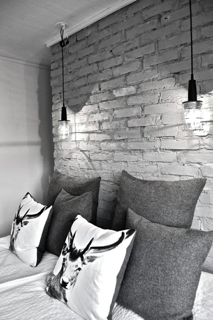 Le lustre industriel une inspiration d pareill e - Chambre style loft industriel ...
