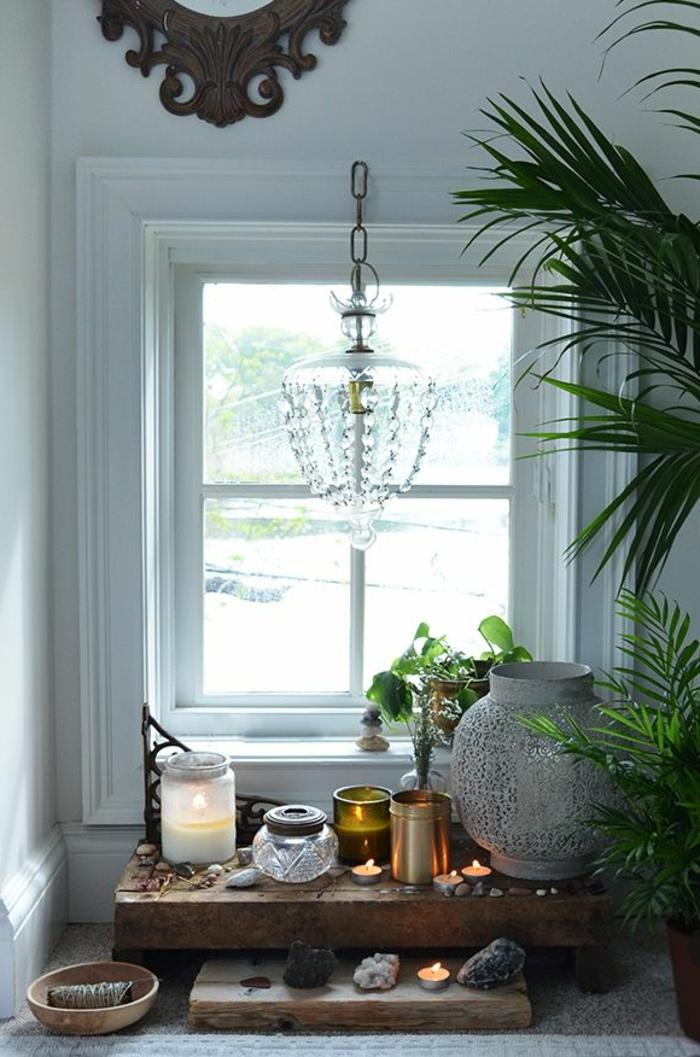 maison-feng-shui-chambre-zen-aménagement-feng-shui-plante-verte-d-intérieur