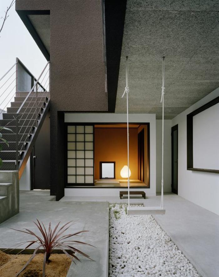 maison-feng-shui-couloir-zen-escalier-berceau-maison-moderne-de-style-feng-shui