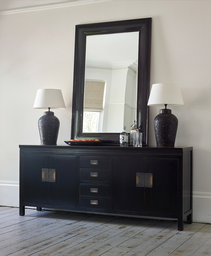buffet noir pas cher noir pas cher meilleure inspiration. Black Bedroom Furniture Sets. Home Design Ideas