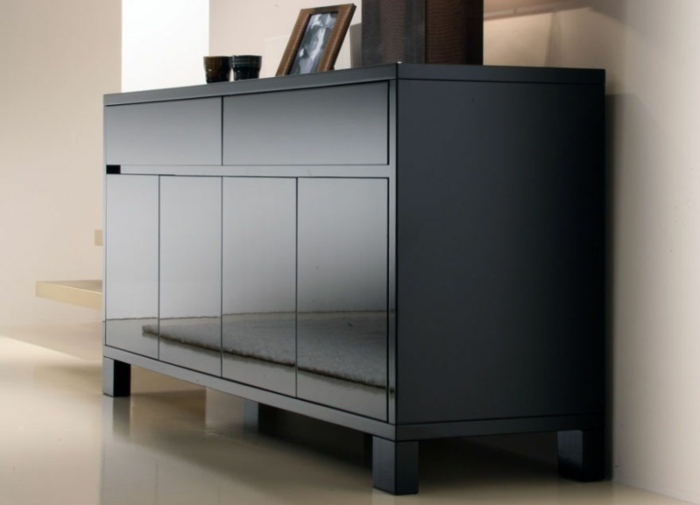 meuble-bahut-noir-laqué-pas-cher-couleur-solde