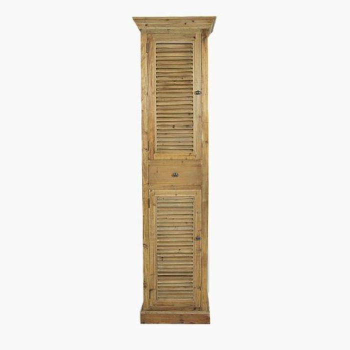 Le meuble colonne en 45 photos qui vont vous inspirer - Colonne de salle de bain bois ...