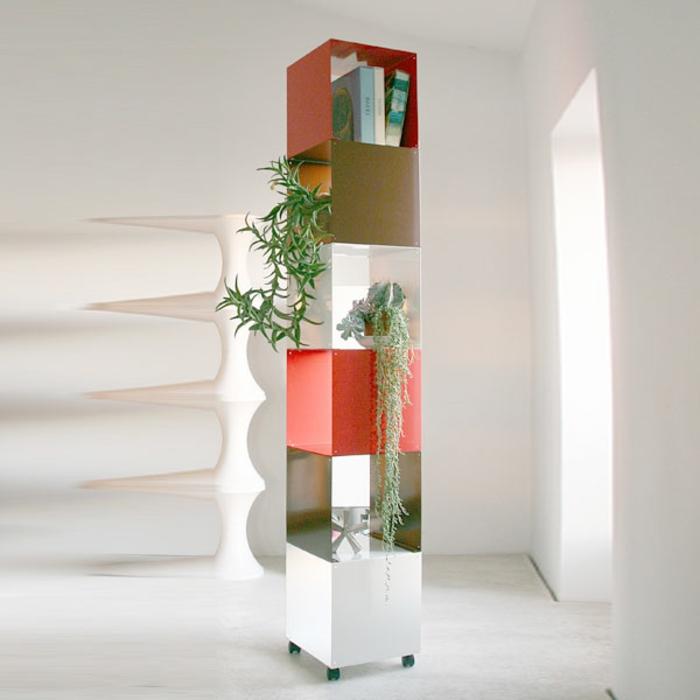 Le meuble colonne en 45 photos qui vont vous inspirer for Porte plantes d interieur