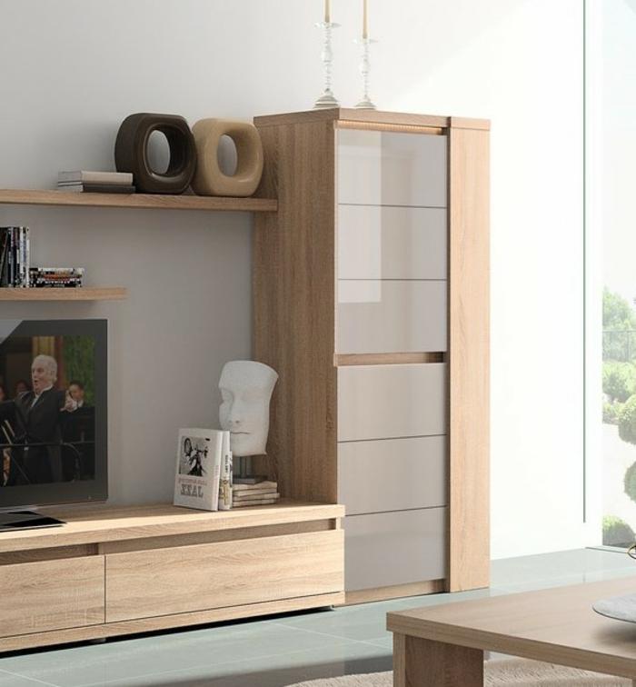 meuble-colonne-salon-aménagement-dans-le-salon-colonne-conforama-meubles-designes-moderne